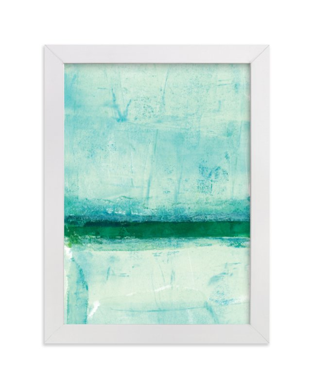 """""""Ocean Abstract III"""" - Limited Edition Art Print by Vine and Thistle in beautiful frame options and a variety of sizes."""