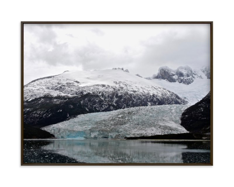 """Ice Field"" - Limited Edition Art Print by Jeff Vilkin in beautiful frame options and a variety of sizes."