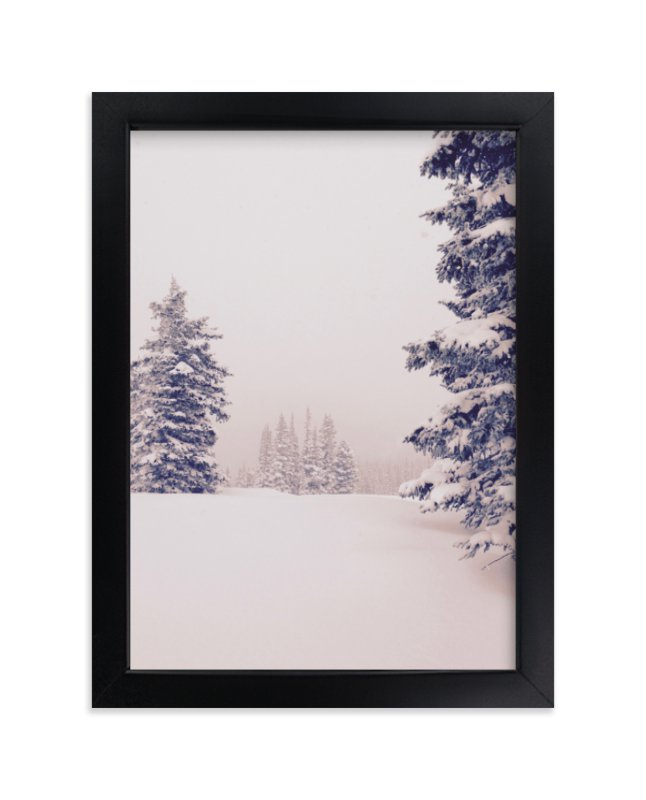 """""""Softly Falling"""" - Limited Edition Art Print by Colby Zeiser in beautiful frame options and a variety of sizes."""