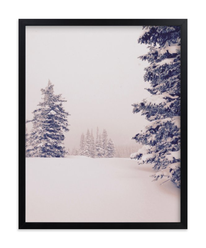 """Softly Falling"" - Limited Edition Art Print by Colby Zeiser in beautiful frame options and a variety of sizes."