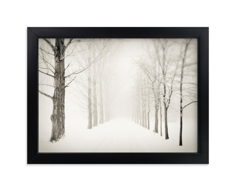 """Winter Journey"" - Limited Edition Art Print by Gabrial Reising in beautiful frame options and a variety of sizes."
