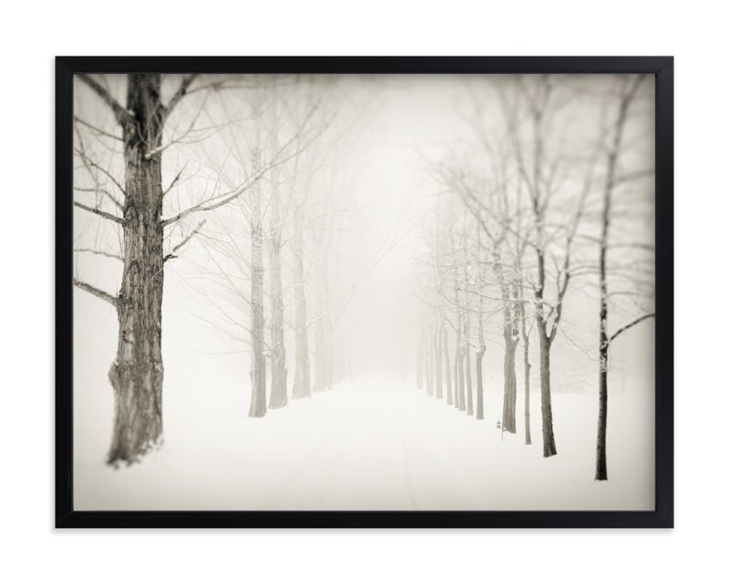 """""""Winter Journey"""" - Limited Edition Art Print by Gabrial Reising in beautiful frame options and a variety of sizes."""