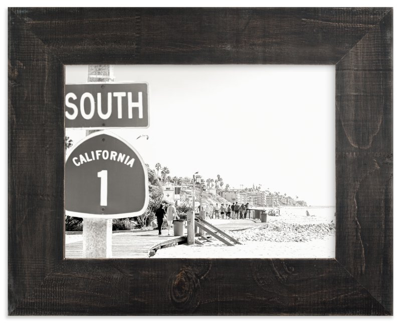 """Hwy One"" - Limited Edition Art Print by Esther Lane in beautiful frame options and a variety of sizes."