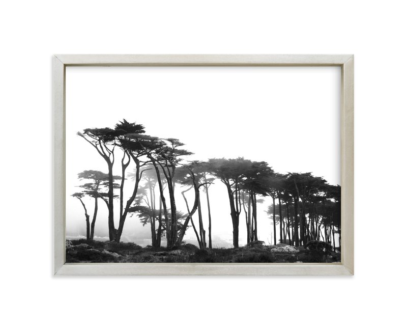 """Lands End"" - Limited Edition Art Print by Tania View in beautiful frame options and a variety of sizes."