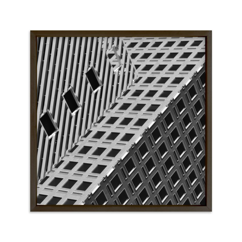 """Squares and Lines"" - Limited Edition Art Print by Brian Collins in beautiful frame options and a variety of sizes."
