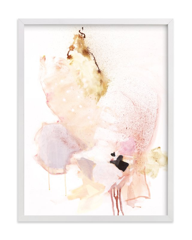 """""""Delicate"""" - Limited Edition Art Print by Sarah McInroe in beautiful frame options and a variety of sizes."""