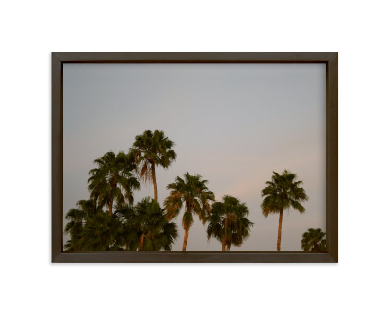 """Fancy Palms"" - Limited Edition Art Print by CaroleeXpressions in beautiful frame options and a variety of sizes."