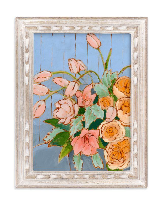 """From a Table in Carolina"" - Limited Edition Art Print by Jennifer Allevato in beautiful frame options and a variety of sizes."