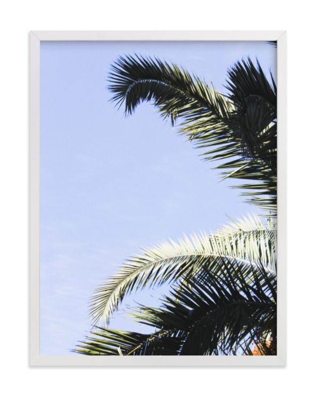 """""""Palm I"""" - Limited Edition Art Print by Annie Montgomery in beautiful frame options and a variety of sizes."""