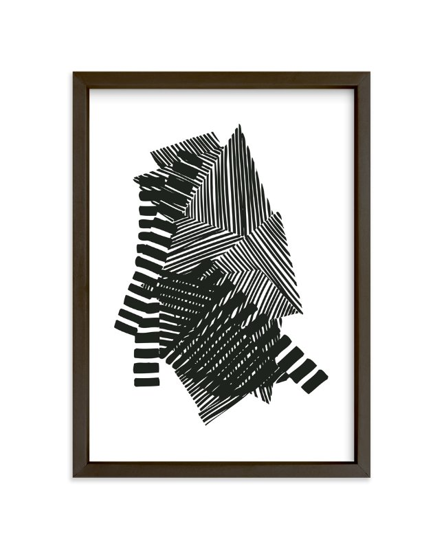 """""""Layers"""" - Limited Edition Art Print by Jaime Derringer in beautiful frame options and a variety of sizes."""