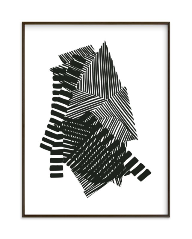 """Layers"" - Limited Edition Art Print by Jaime Derringer in beautiful frame options and a variety of sizes."