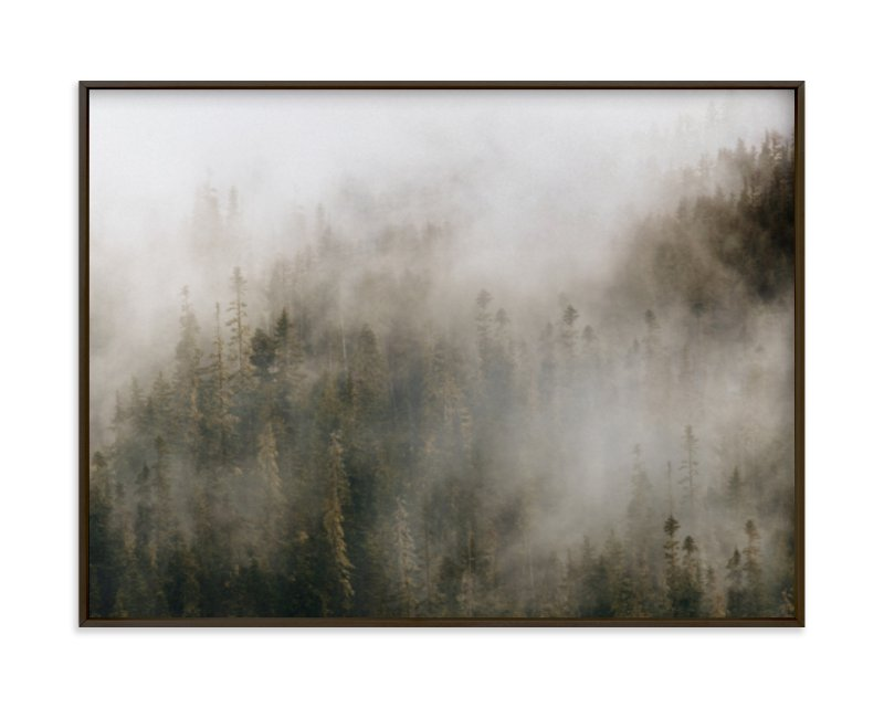 """Pacific North Fog"" - Art Print by Emily Coey in beautiful frame options and a variety of sizes."