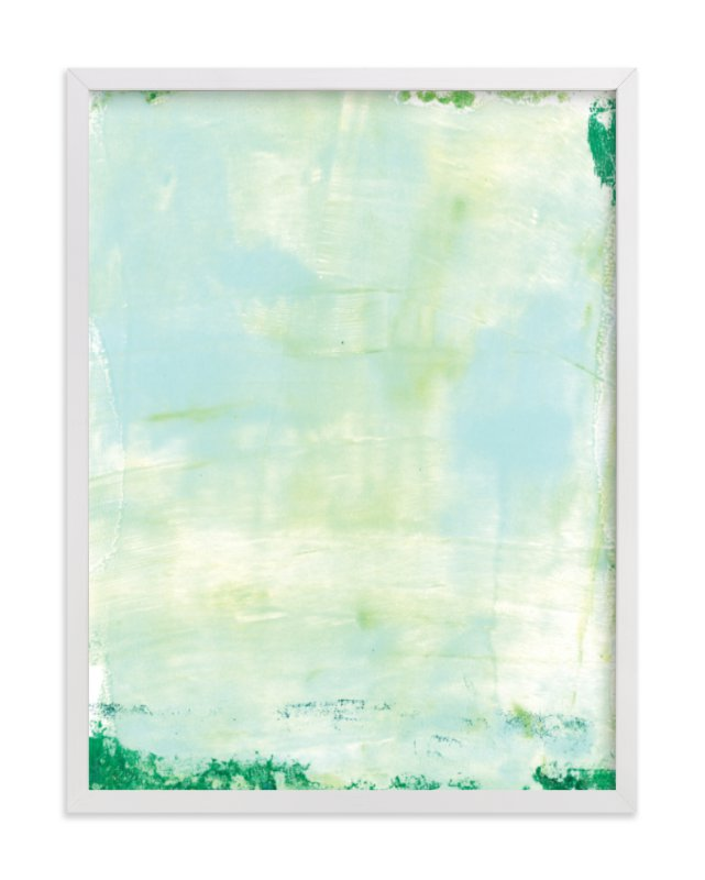 """""""Ocean Abstract V"""" - Limited Edition Art Print by Vine and Thistle in beautiful frame options and a variety of sizes."""
