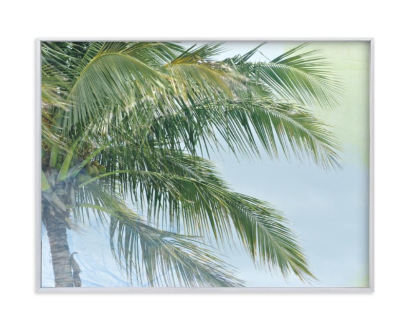 """""""Palm Tree Abstract"""" - Limited Edition Art Print by Gaucho Works in beautiful frame options and a variety of sizes."""