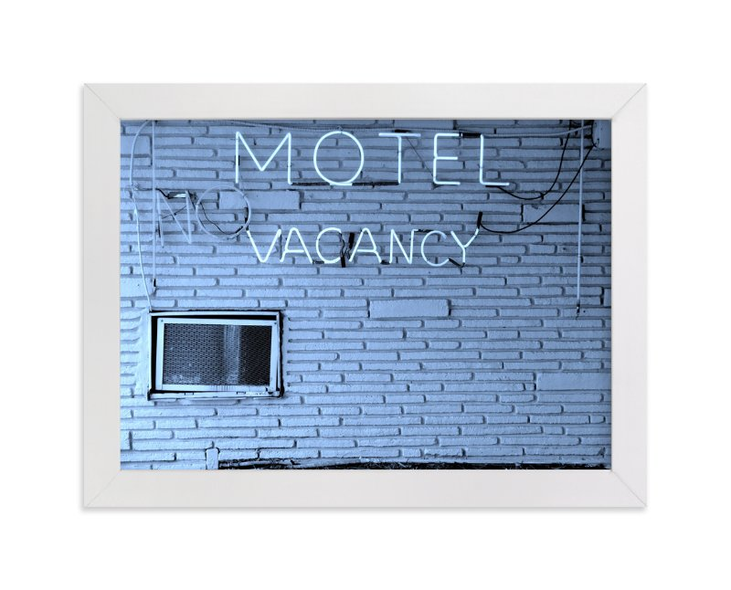 """No Vacancy"" - Limited Edition Art Print by Jonathan Brooks in beautiful frame options and a variety of sizes."