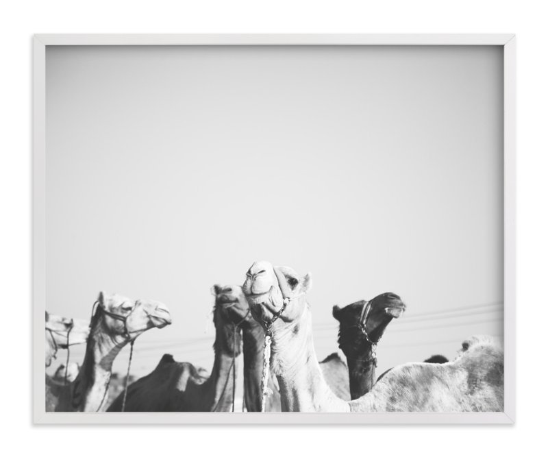 """Leader of the Pack"" - Art Print by Heather Marie in beautiful frame options and a variety of sizes."