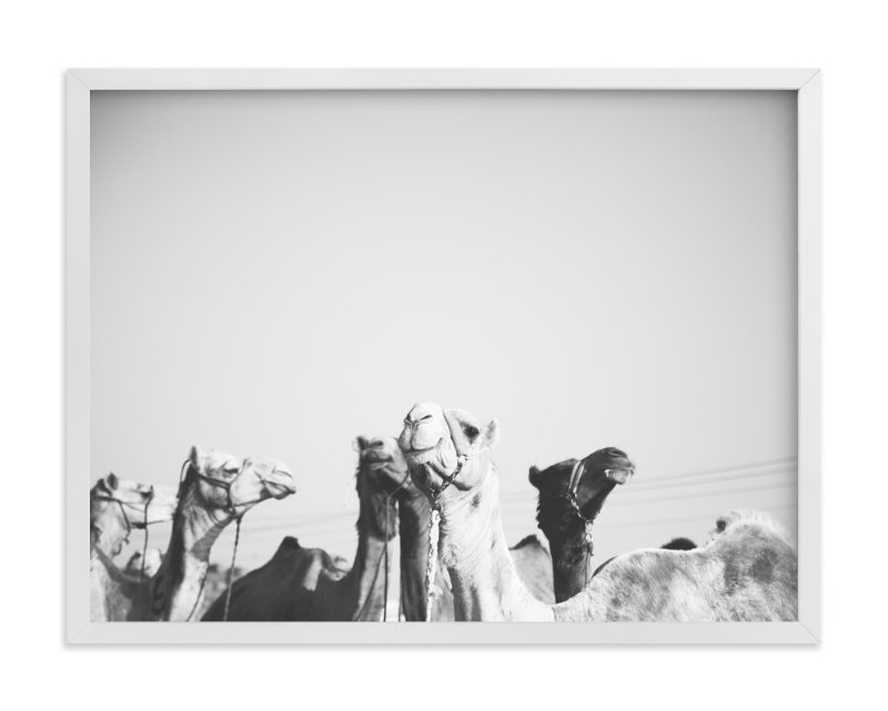 """""""Leader of the Pack"""" - Limited Edition Art Print by Heather Marie in beautiful frame options and a variety of sizes."""