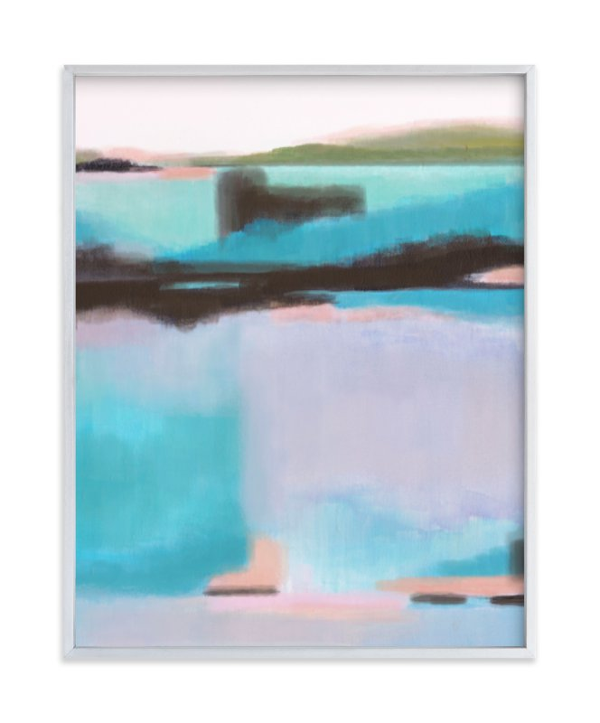 """""""Opal Kind of Day"""" - Limited Edition Art Print by Alison Jerry Designs in beautiful frame options and a variety of sizes."""