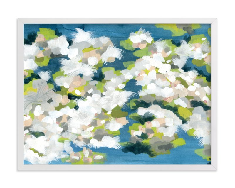 """Verdant"" - Limited Edition Art Print by Denise Wong in beautiful frame options and a variety of sizes."