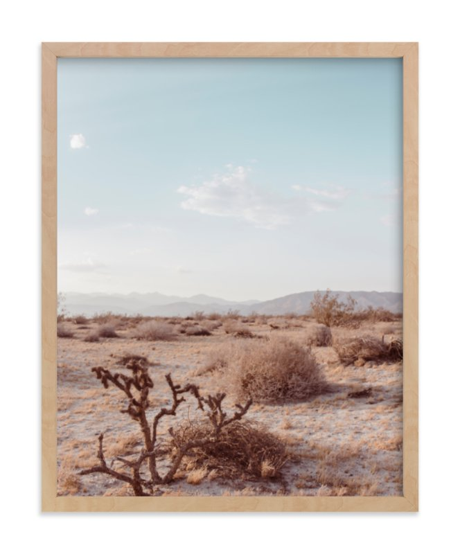 """""""Desert Hot Springs Study 3"""" - Limited Edition Art Print by Lisa Sundin in beautiful frame options and a variety of sizes."""