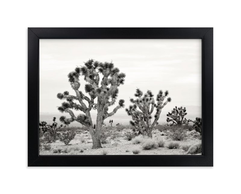"""Joshua Tree"" - Limited Edition Art Print by Kristi Jackson in beautiful frame options and a variety of sizes."