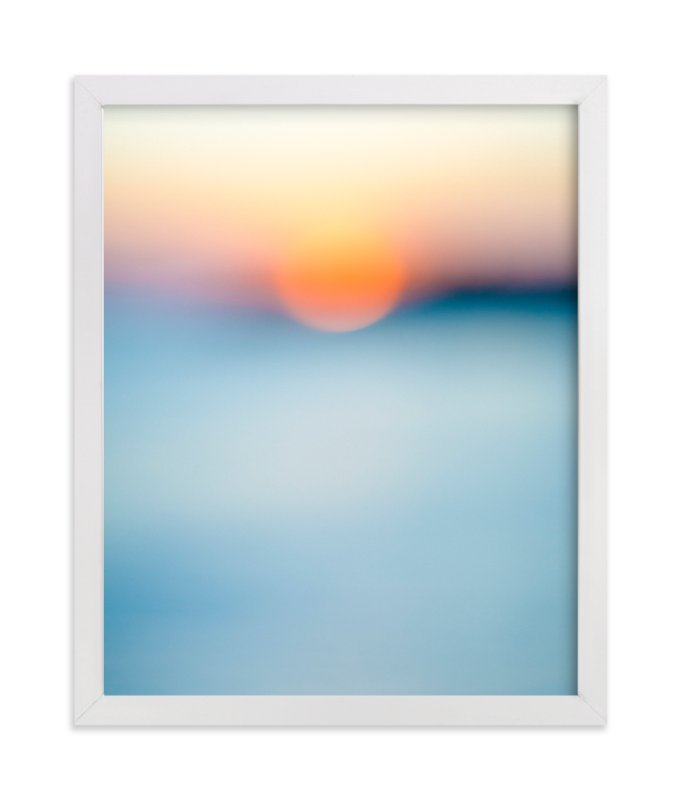 """""""Sunset Study"""" - Limited Edition Art Print by Jessica C. Nugent in beautiful frame options and a variety of sizes."""