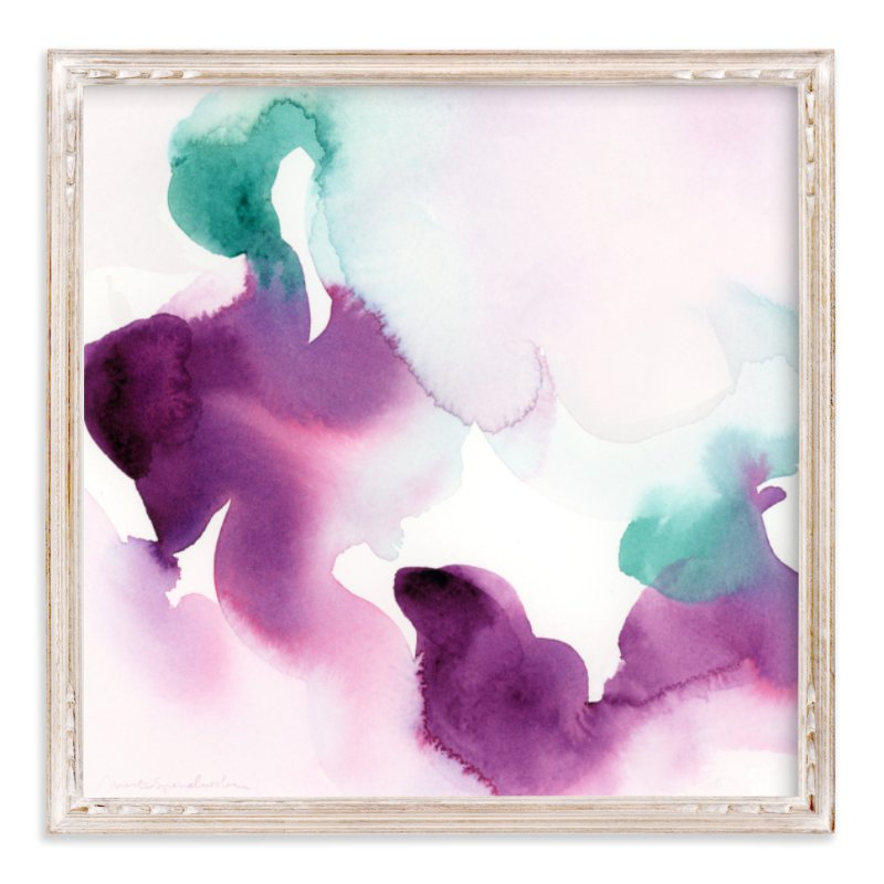 """""""Watercolor Abstract Flora Series : Solice"""" - Limited Edition Art Print by Marta Spendowska in beautiful frame options and a variety of sizes."""
