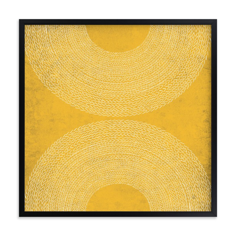 """""""sunrise sunset"""" - Limited Edition Art Print by Paper Dahlia in beautiful frame options and a variety of sizes."""