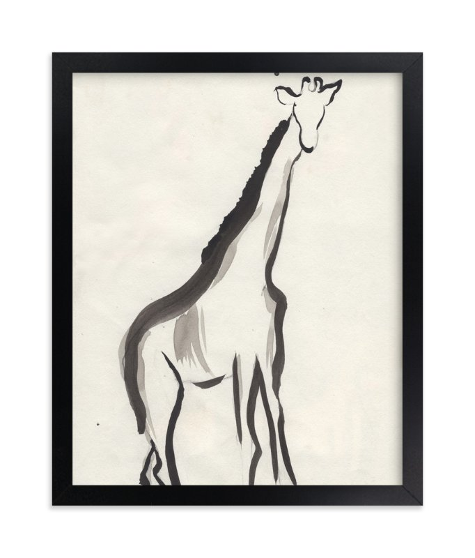 """""""Once upon a gaze"""" - Limited Edition Art Print by Shawni Hogan in beautiful frame options and a variety of sizes."""