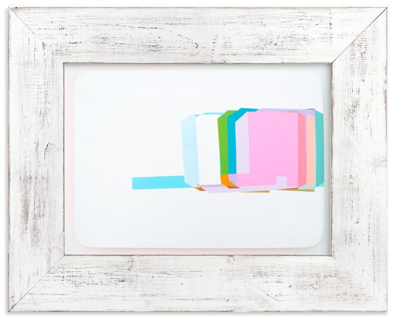 """Screens18"" - Limited Edition Art Print by Nezha Chan in beautiful frame options and a variety of sizes."