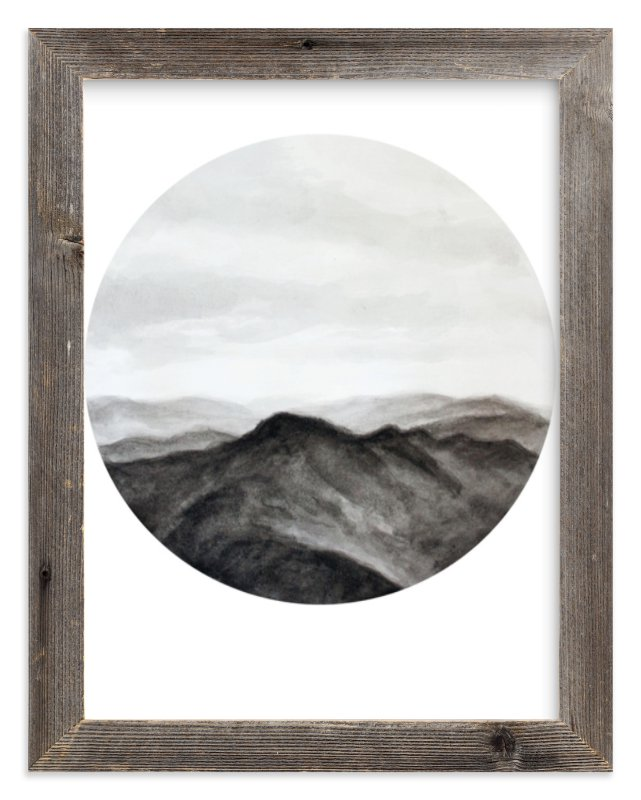 """Looking Forward"" - Limited Edition Art Print by Hannah Perrine Mode in beautiful frame options and a variety of sizes."