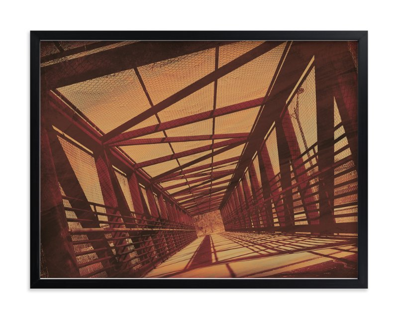 """a bridge perspective"" - Limited Edition Art Print by Anita Handy in beautiful frame options and a variety of sizes."