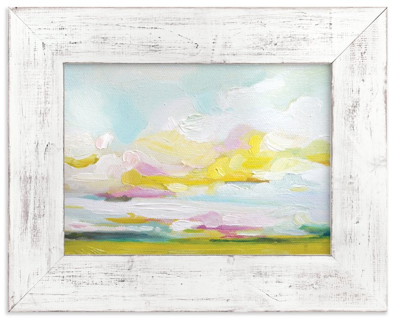 """""""Land of Plenty"""" - Art Print by Emily Jeffords in beautiful frame options and a variety of sizes."""