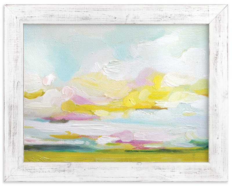 """""""Land of Plenty"""" - Limited Edition Art Print by Emily Jeffords in beautiful frame options and a variety of sizes."""
