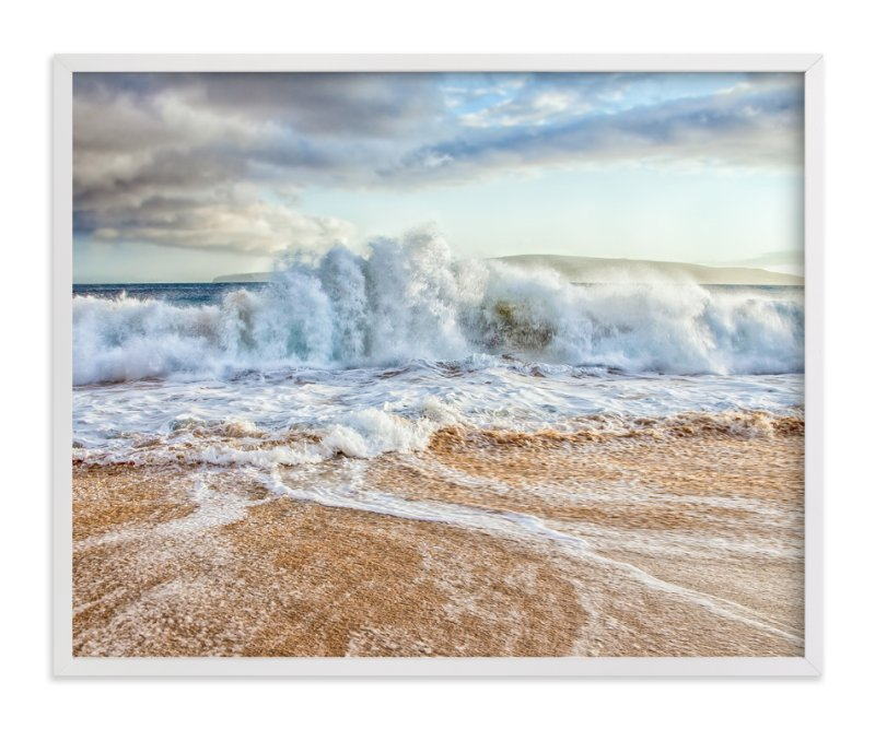 """Chaos in the Waves"" - Limited Edition Art Print by Mary Ann Glynn-Tusa in beautiful frame options and a variety of sizes."