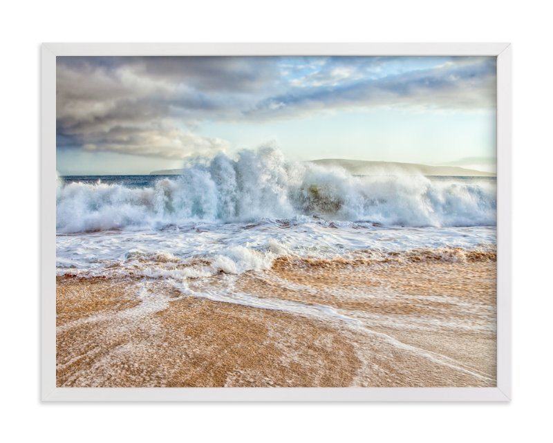 """""""Chaos in the Waves"""" - Limited Edition Art Print by Mary Ann Glynn-Tusa in beautiful frame options and a variety of sizes."""
