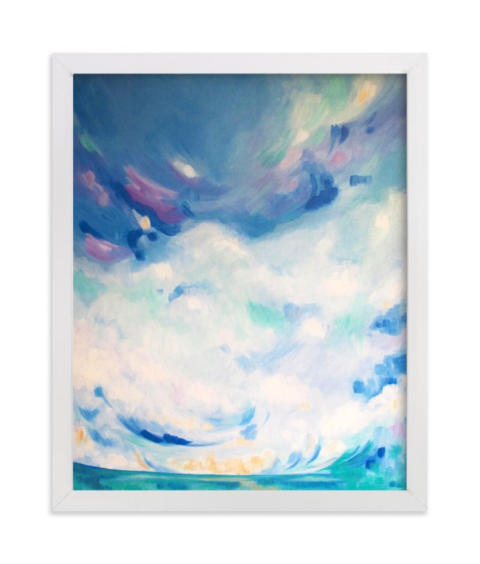 """""""beauty reflects beauty"""" - Limited Edition Art Print by Jennifer Hallock in beautiful frame options and a variety of sizes."""