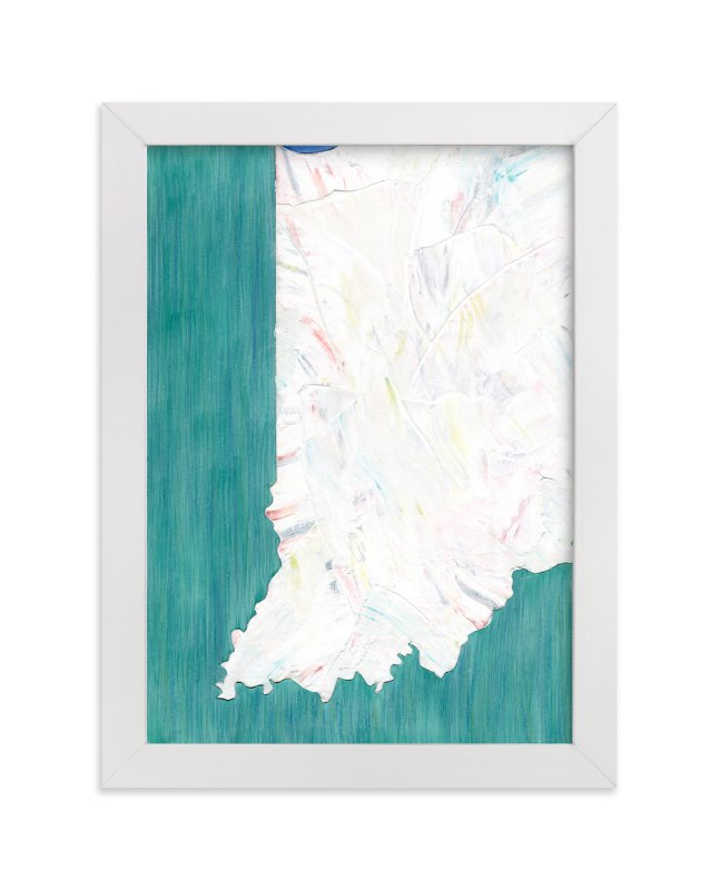 """""""Indiana in Paint"""" - Limited Edition Art Print by Denise Wong in beautiful frame options and a variety of sizes."""