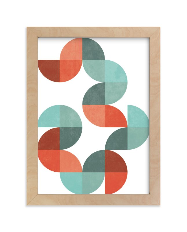 """""""Division Series 01"""" - Limited Edition Art Print by Jennifer Morehead in beautiful frame options and a variety of sizes."""
