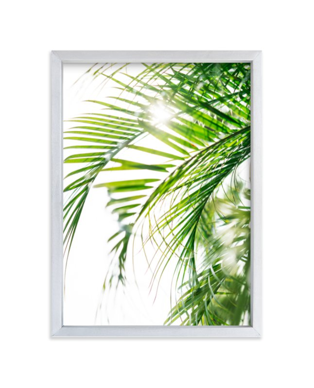 """""""Palm 3"""" - Limited Edition Art Print by Kamala Nahas in beautiful frame options and a variety of sizes."""