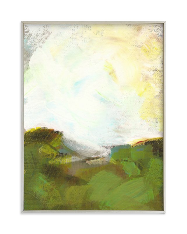 """""""Sacred Heart Field"""" - Limited Edition Art Print by Lorent and Leif in beautiful frame options and a variety of sizes."""
