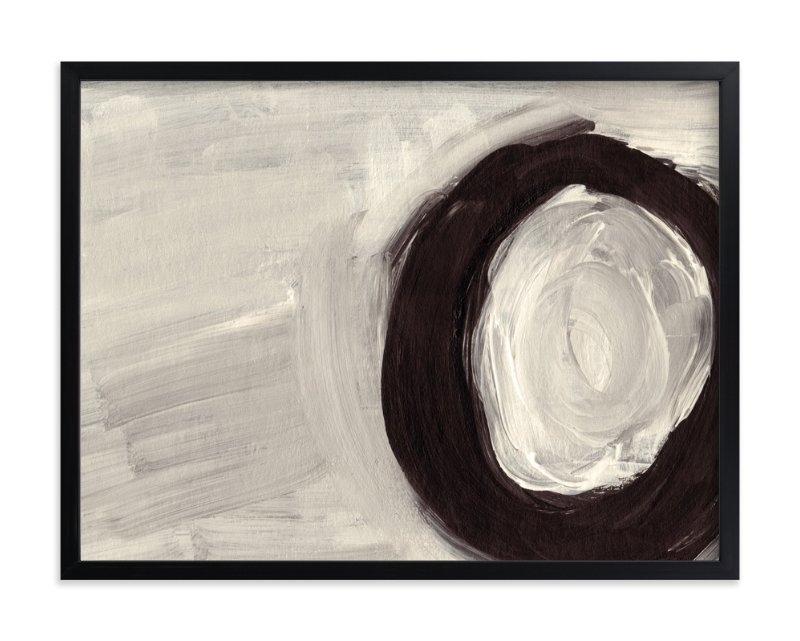 """Round and Round"" - Limited Edition Art Print by Christiana Hudson in beautiful frame options and a variety of sizes."