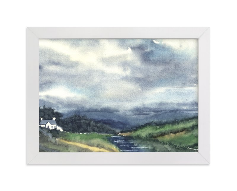 """Cloud Symphony Donegal Ireland"" - Limited Edition Art Print by Eva Marion in beautiful frame options and a variety of sizes."