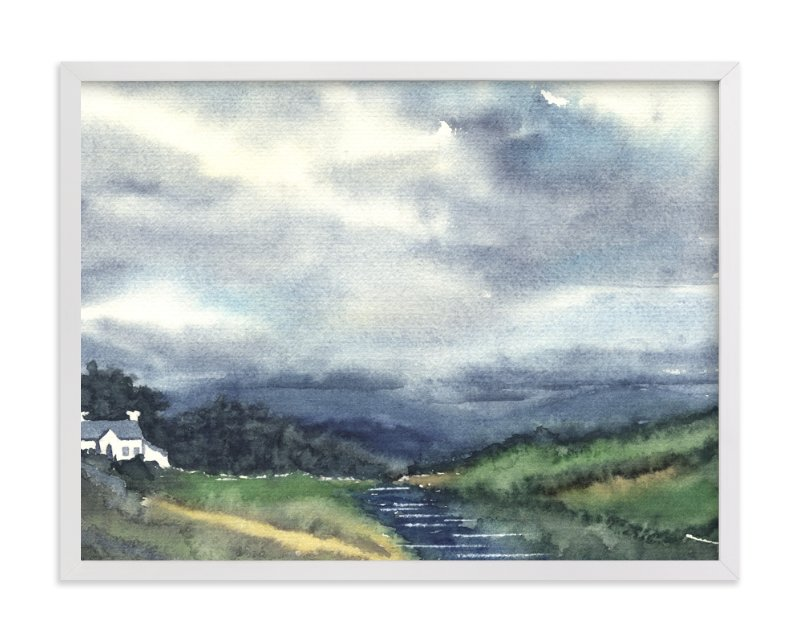 Cloud Symphony Donegal Ireland Art Print