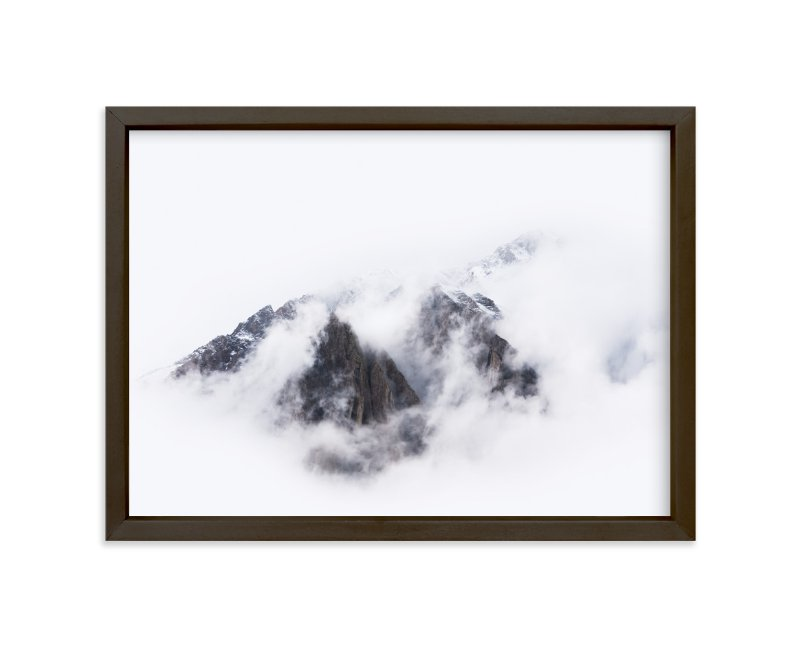 """""""Top Of The World"""" - Limited Edition Art Print by GeekInk Design in beautiful frame options and a variety of sizes."""