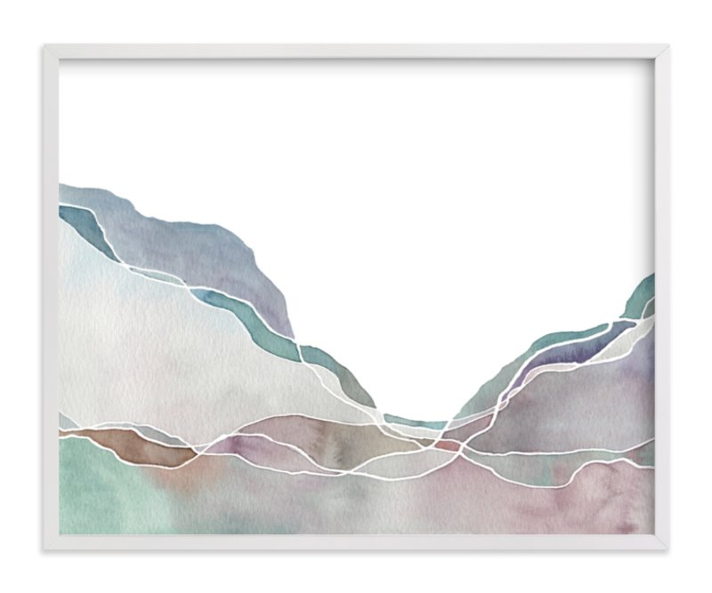 """""""Terrain No. 2"""" - Limited Edition Art Print by Jennifer Daily in beautiful frame options and a variety of sizes."""