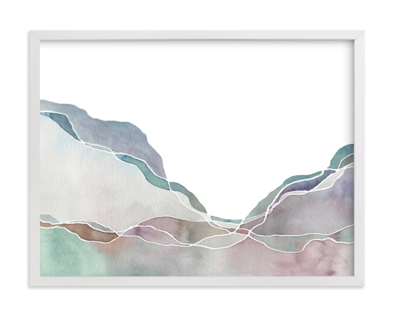 """Terrain No. 2"" - Limited Edition Art Print by Jennifer Daily in beautiful frame options and a variety of sizes."