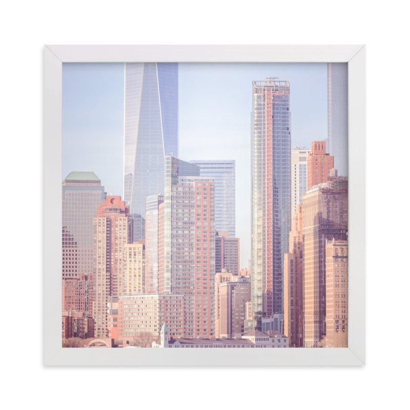 """A distant skyline"" - Limited Edition Art Print by Lisa Sundin in beautiful frame options and a variety of sizes."