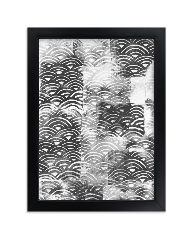 """""""PEEK"""" - Limited Edition Art Print by Emine Ortega in beautiful frame options and a variety of sizes."""