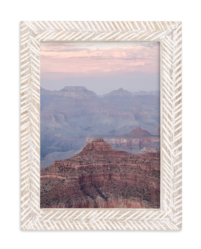 """Grand Canyon Blush"" - Limited Edition Art Print by Kamala Nahas in beautiful frame options and a variety of sizes."